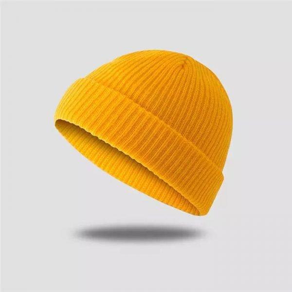 bonnet homme jaune youreleganceshop