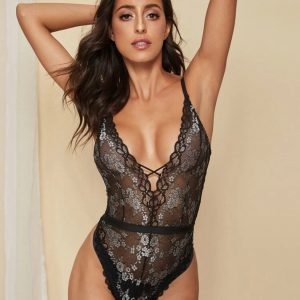 body dentelle noir youreleganceshop