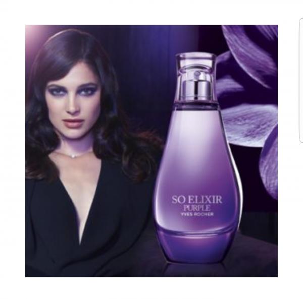 parfum femme so elixir purple yves rocher