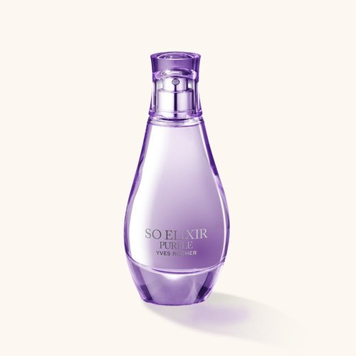 Parfum femme yves rocher elixir purple