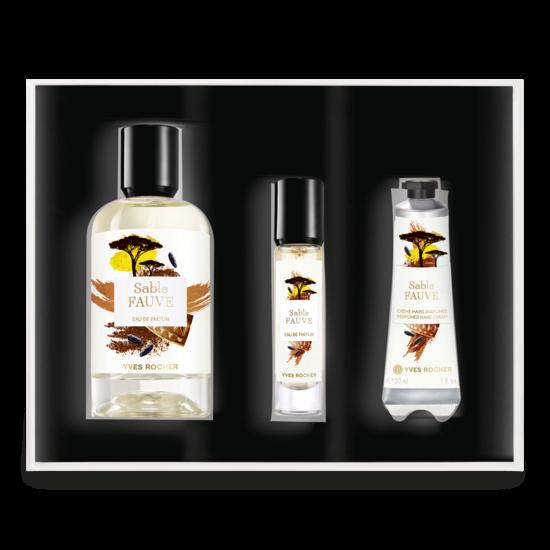 coffret parfum sable fauve yves saint laurent youreleganceshop