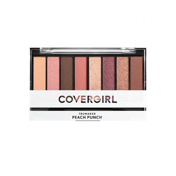 eyeshadow palette covergirl trunaked peach punch 840