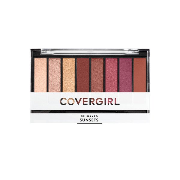eyeshadow palette covergirl trunaked sunset 845