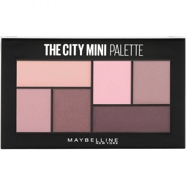 the city mini palette maybelline