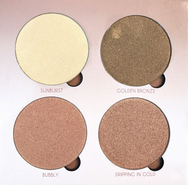highlighter palette that glow