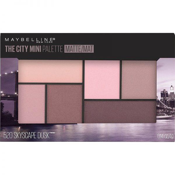 mini palette maybelline the city 520 skyscape