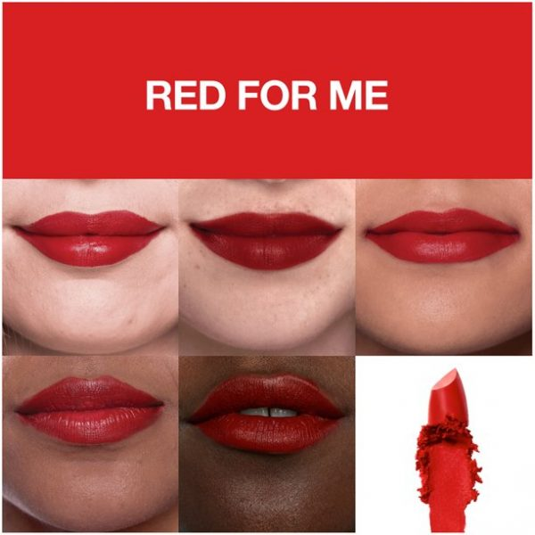 lipstick red for me 382 maybelline sensational