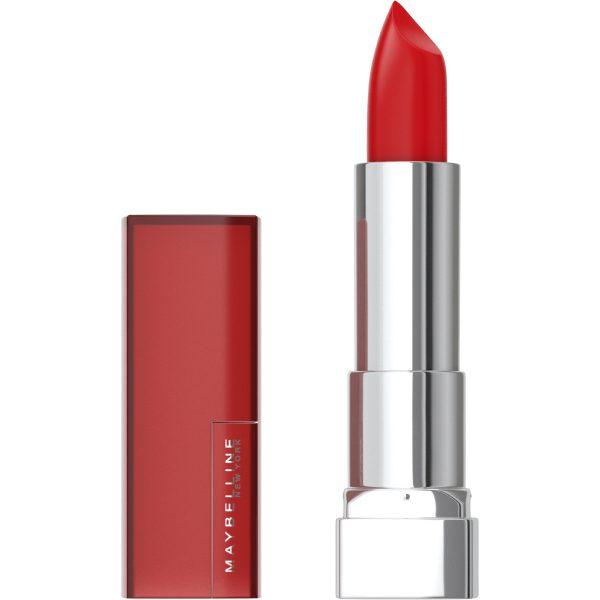 rouge à lèvres maybelline color sensational 690 Siren in scarlet