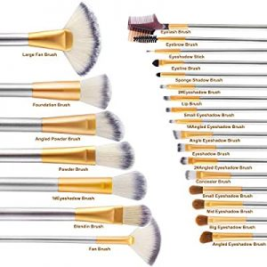pinceau maquillage set 24 pcs
