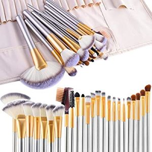ensemble kit pinceaux maquillage 24 pcs