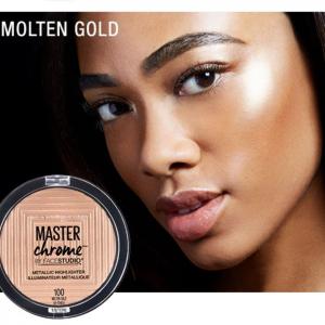 highlighter maybelline 100 molten gold