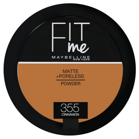 poudre maybelline fit me 355 cinnamon