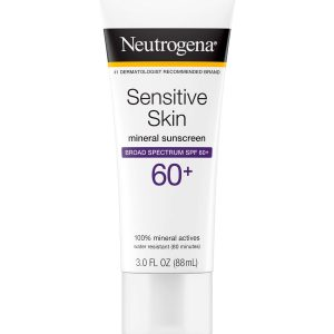 Lotion protection solaire neutrogena peau sensible spf 60+