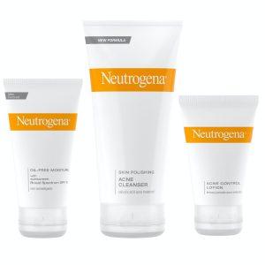 Soin complet anti acné neutrogena