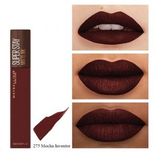 rouge à lèvres maybelline super stay 275 coffee edition